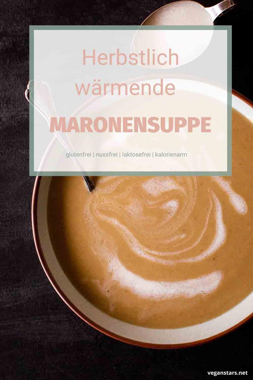 Herbstliche wärmende Maronensuppe