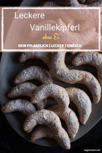 Einfache vegane Vanillekipferl
