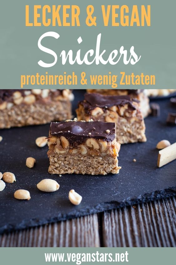 Gesunde Snickers-Alternative