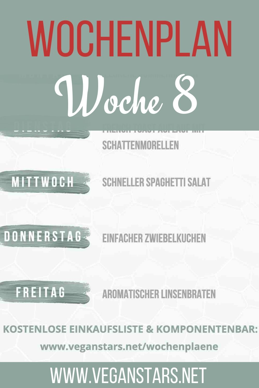 Wochenplan KW 8