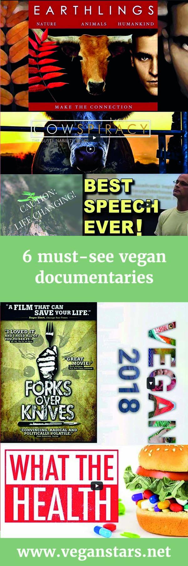 6 must-see vegan documentaries