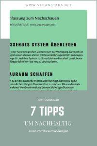7 Tipps wie du einen Vorratsschrank anlegst
