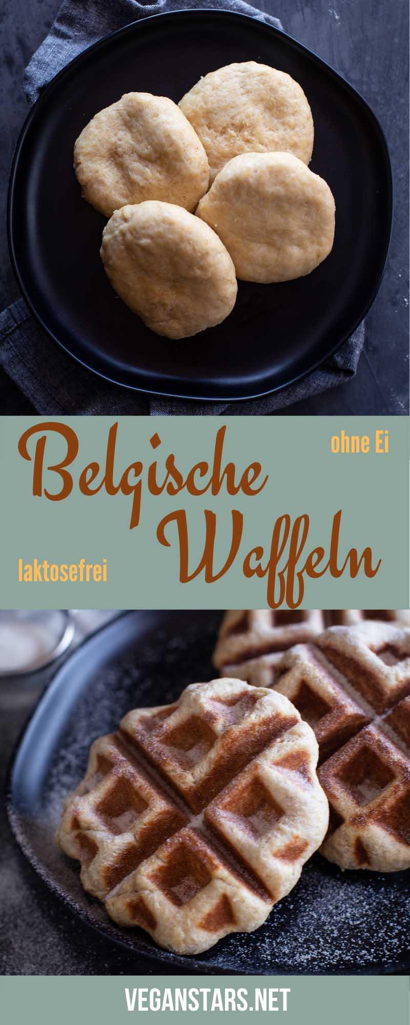 Belgische Waffeln ohne Ei (vegan)