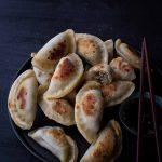 Tofu Shitake Dumplings (vegan)