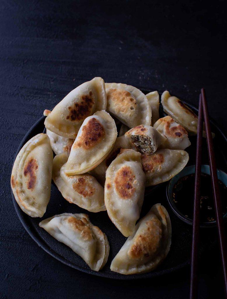 Tofu Shiitake Dumplings
