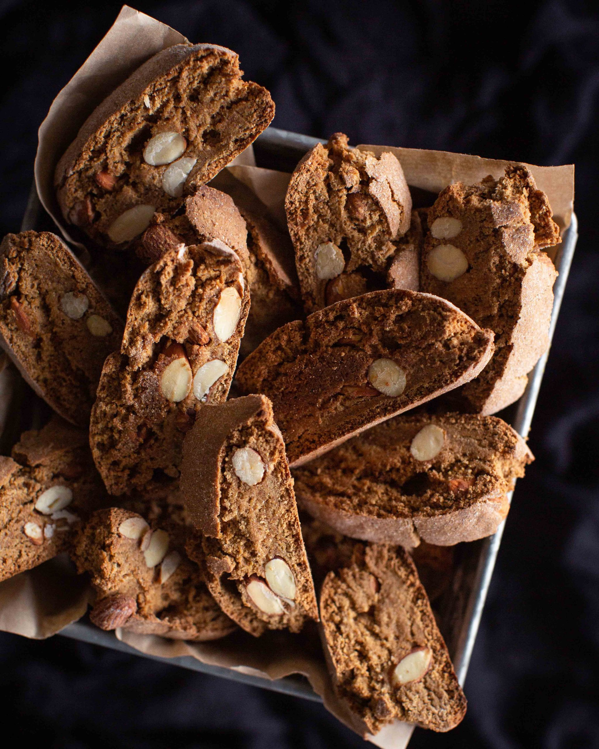 Cantuccini | traditionell italienisches Mandelgebäck