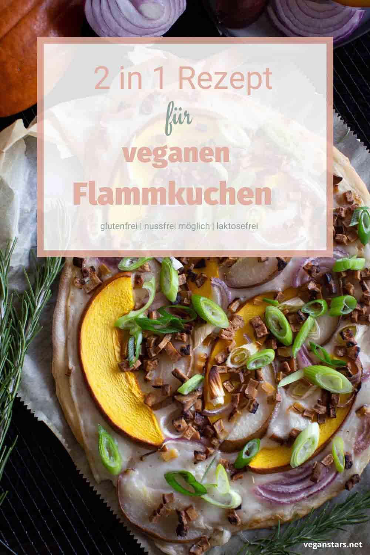 Veganer Flammkuchen