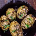 Leckere Fächerkartoffeln (Hasselback Kartoffeln)