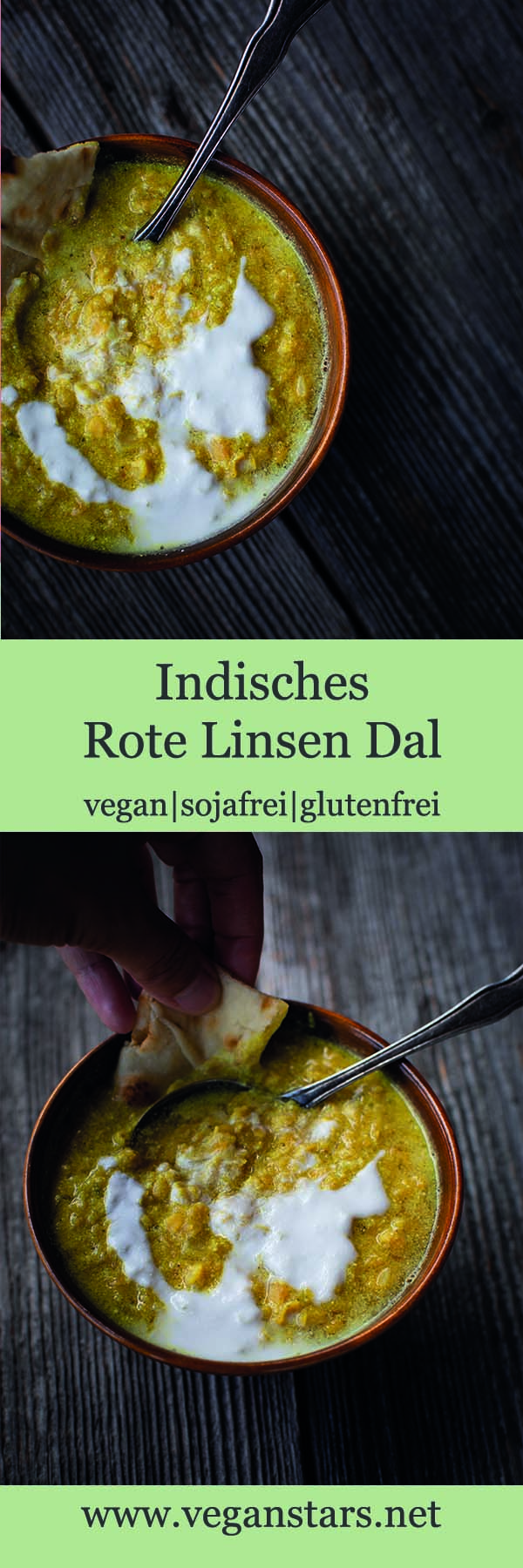 Indisches Rote Linsen Dal