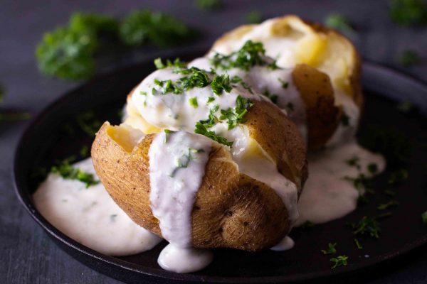 Einfacher und schneller Klassiker: Kartoffeln & Quark