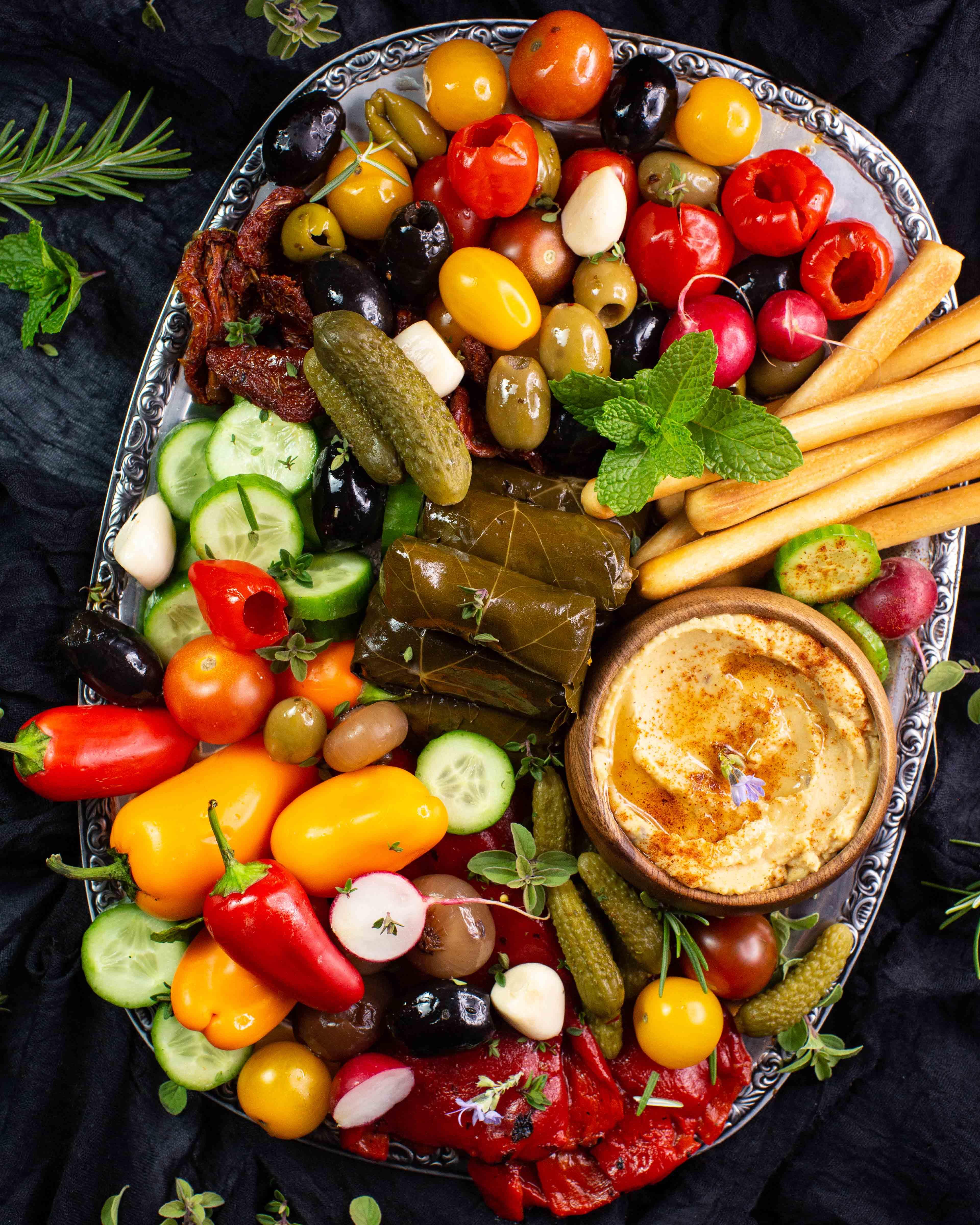 Mezze - eine Vorspeise des nahen Ostens