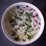 Frühlingssuppe: vegane Okroschka