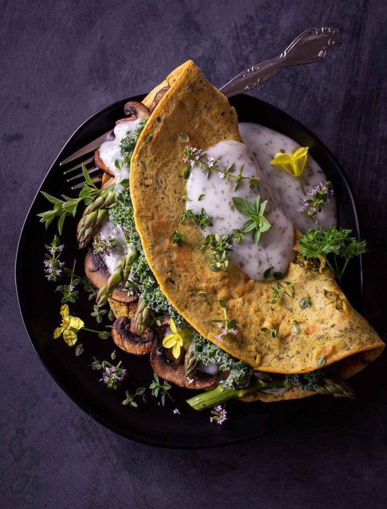 Eifreies Omelette