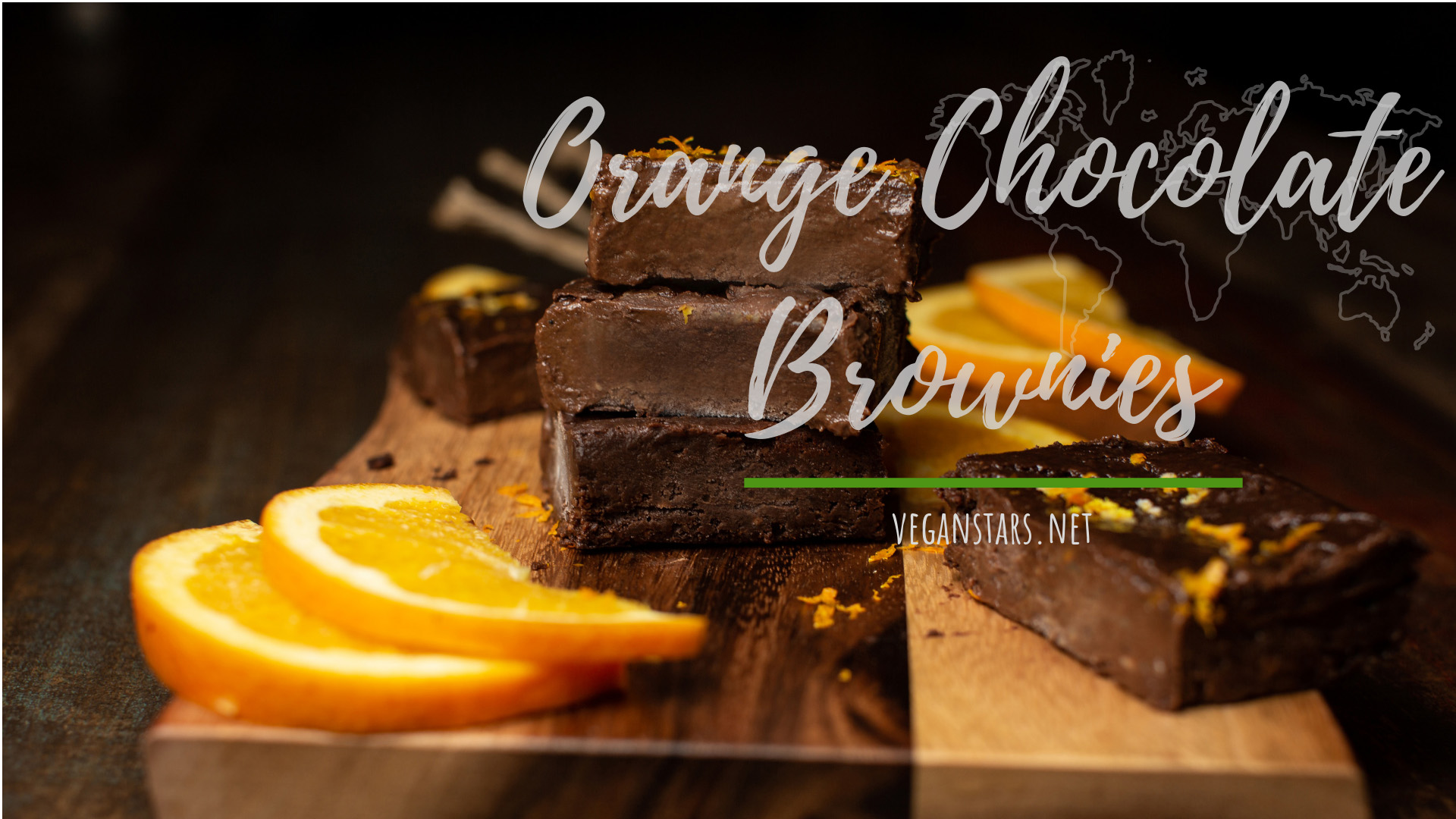 Fudgy Orange Chocolate Brownies