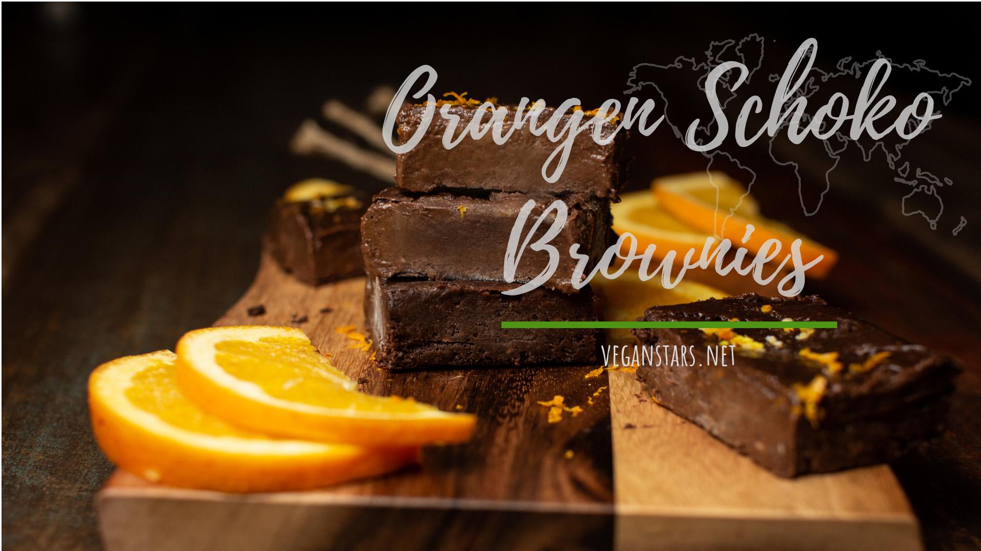 Saftige Orangen Schoko Brownies