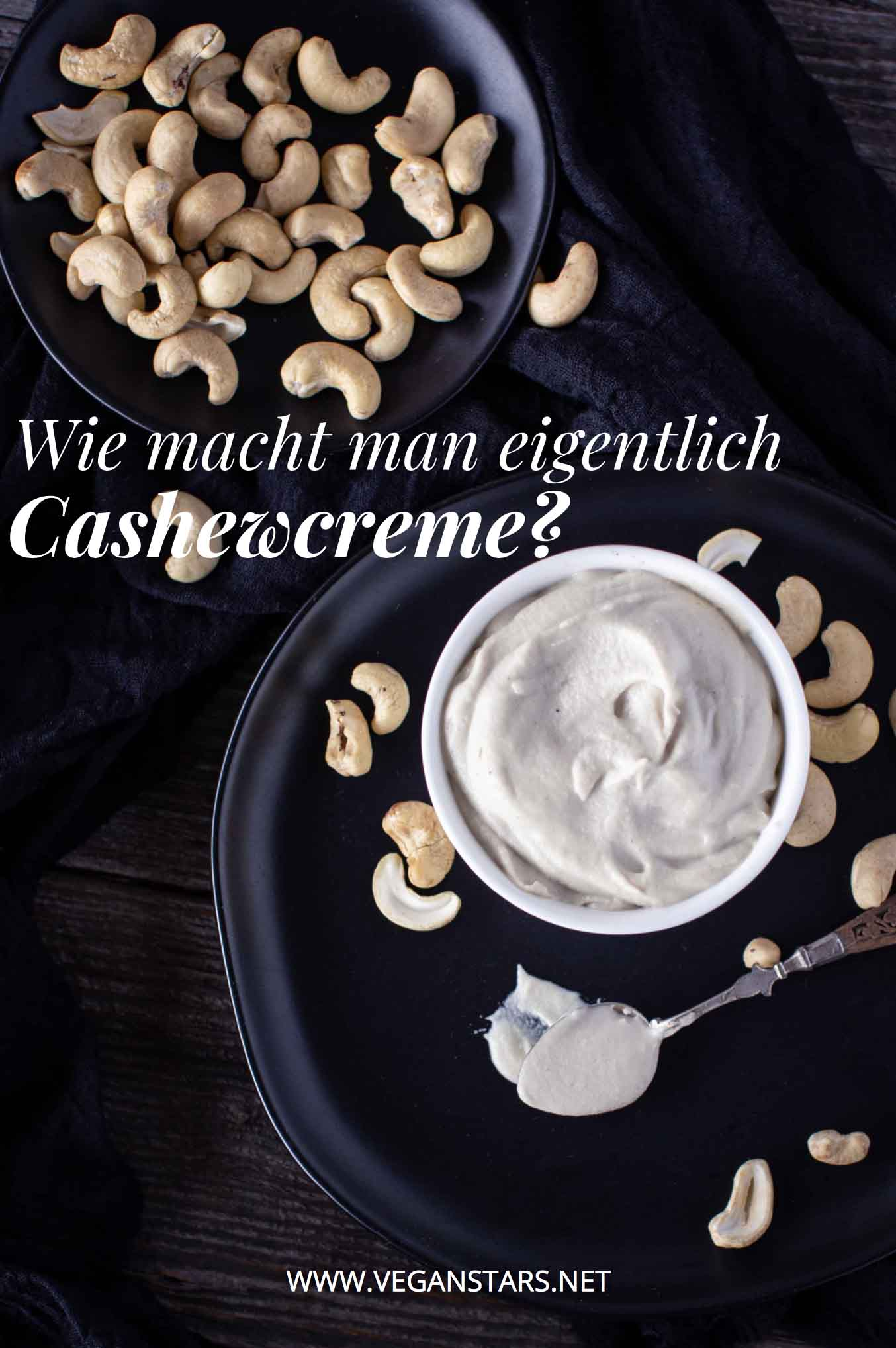 Wie macht man eigentlich Cashewcreme?