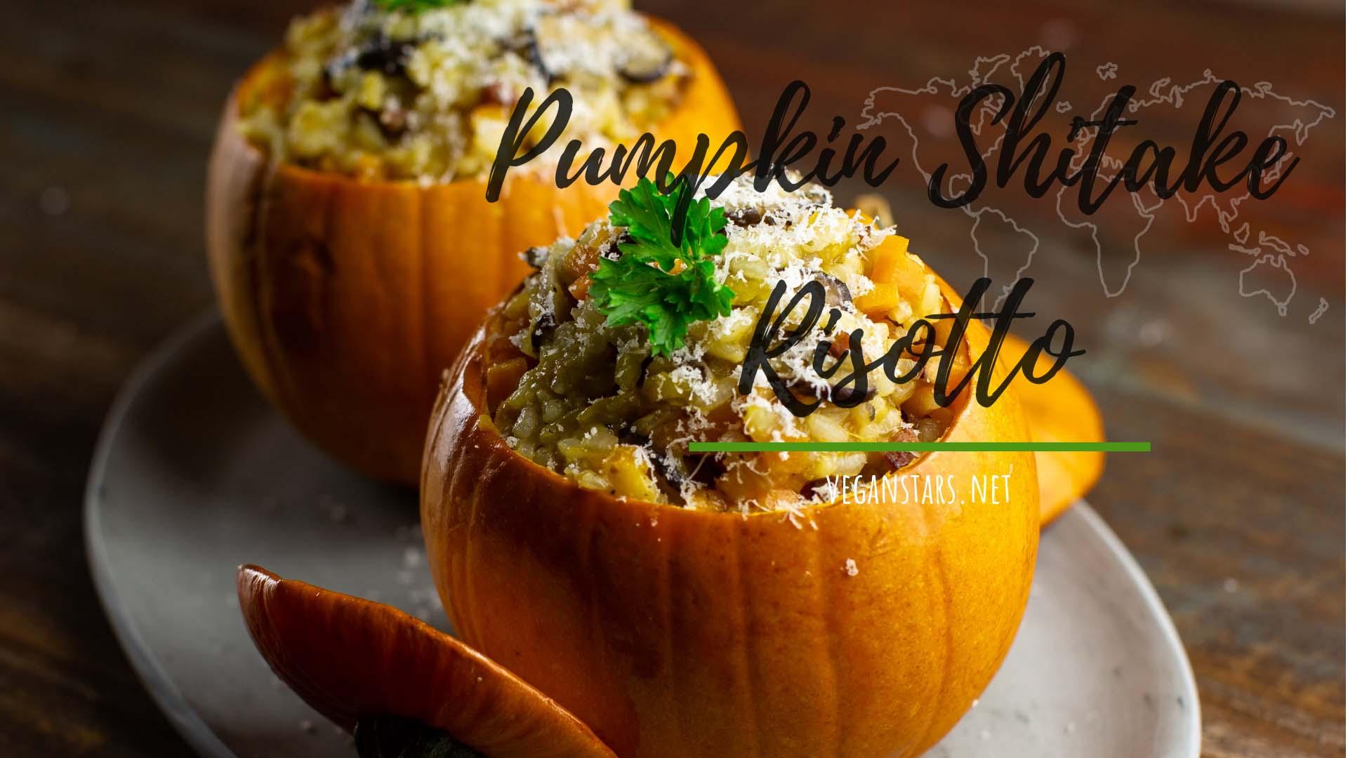 Pumpkin Shitake Risotto