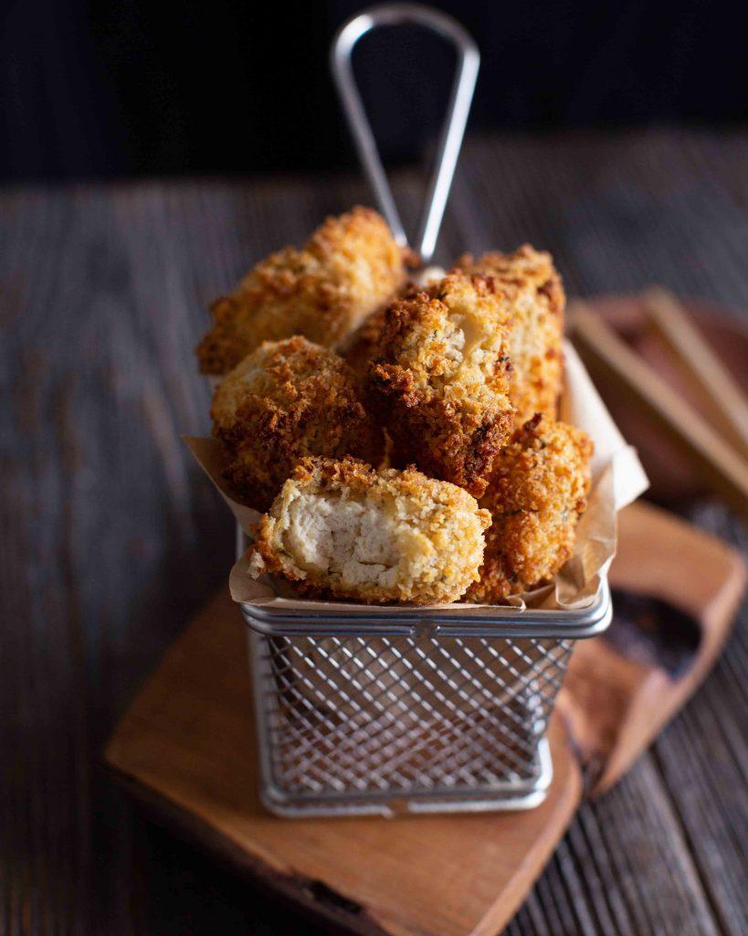 Tofu Nuggets im knusprigen Teigmantel
