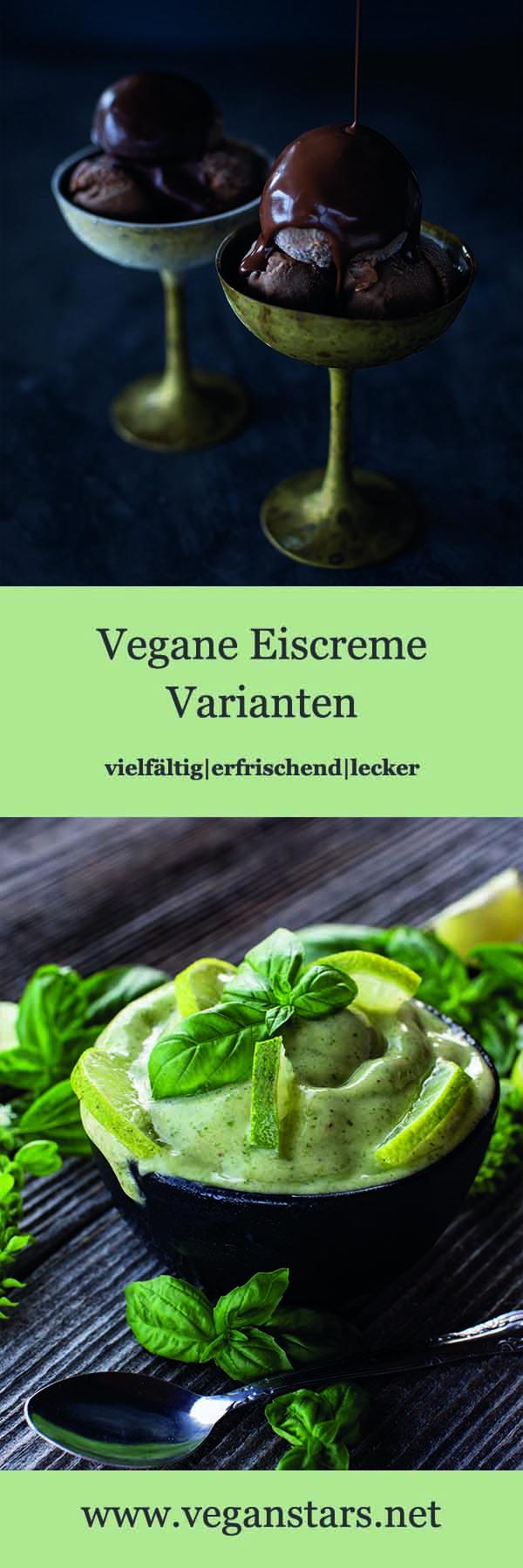Vegane Eiscreme Varianten