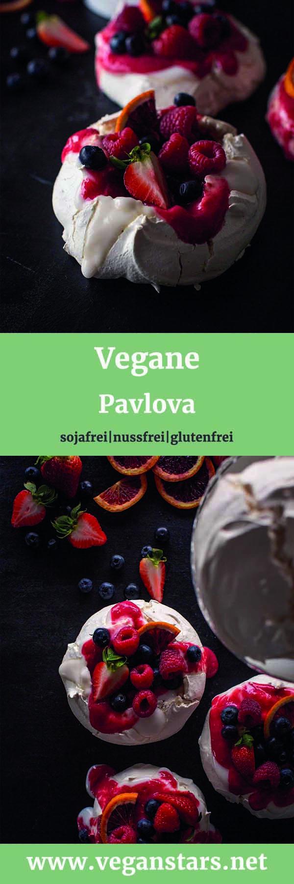 Vegane Pavlova