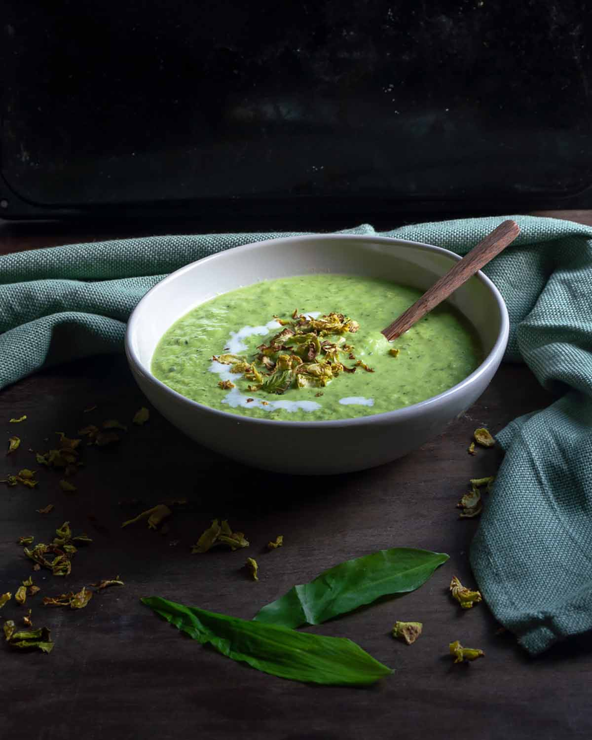 Leek Wild Garlic Soup