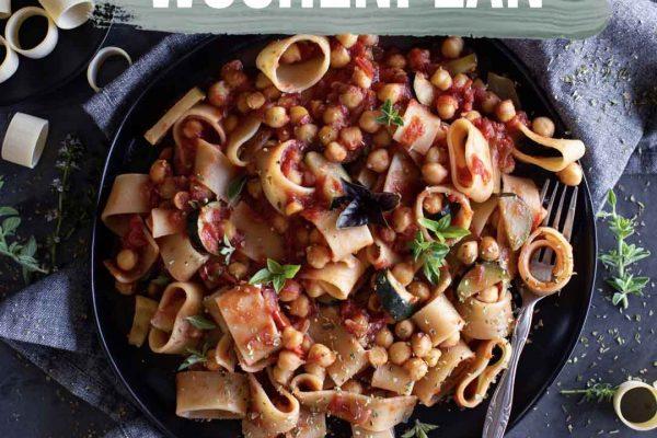 Pflanzliche Gerichte: Wochenplan KW23