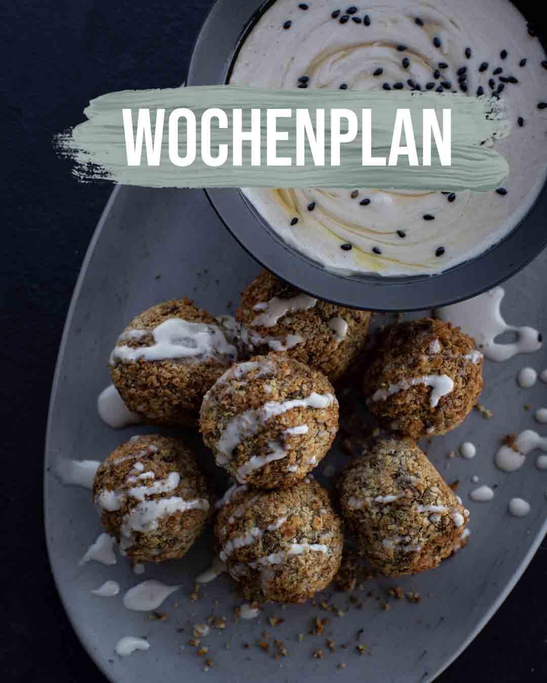 Pflanzliche Gerichte: Wochenplan KW13