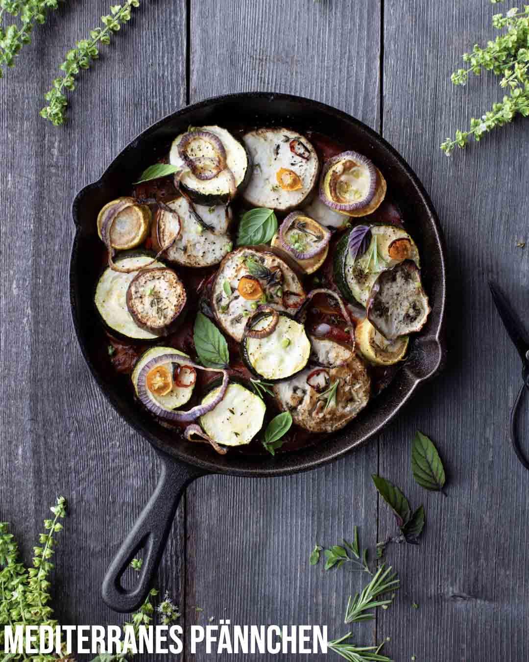 Pflanzliche Gerichte: Wochenplan KW18
